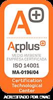 Certificado Apluss14001
